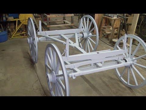 Piedmont Wagon, Undercarriage Restoration | Matching Paint
