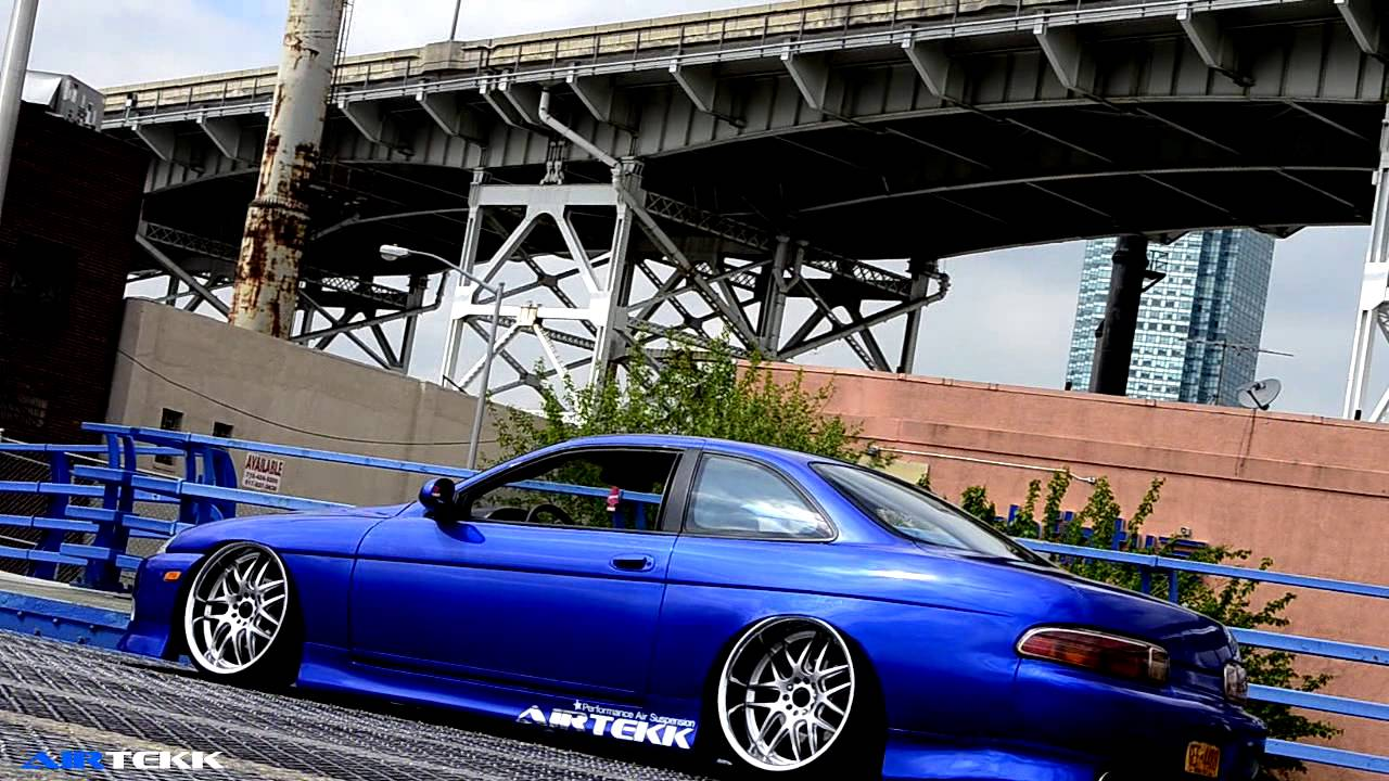 Slammed Car Wallpaper Yelllow Subaru Impreza GC8 HDR A Sweet