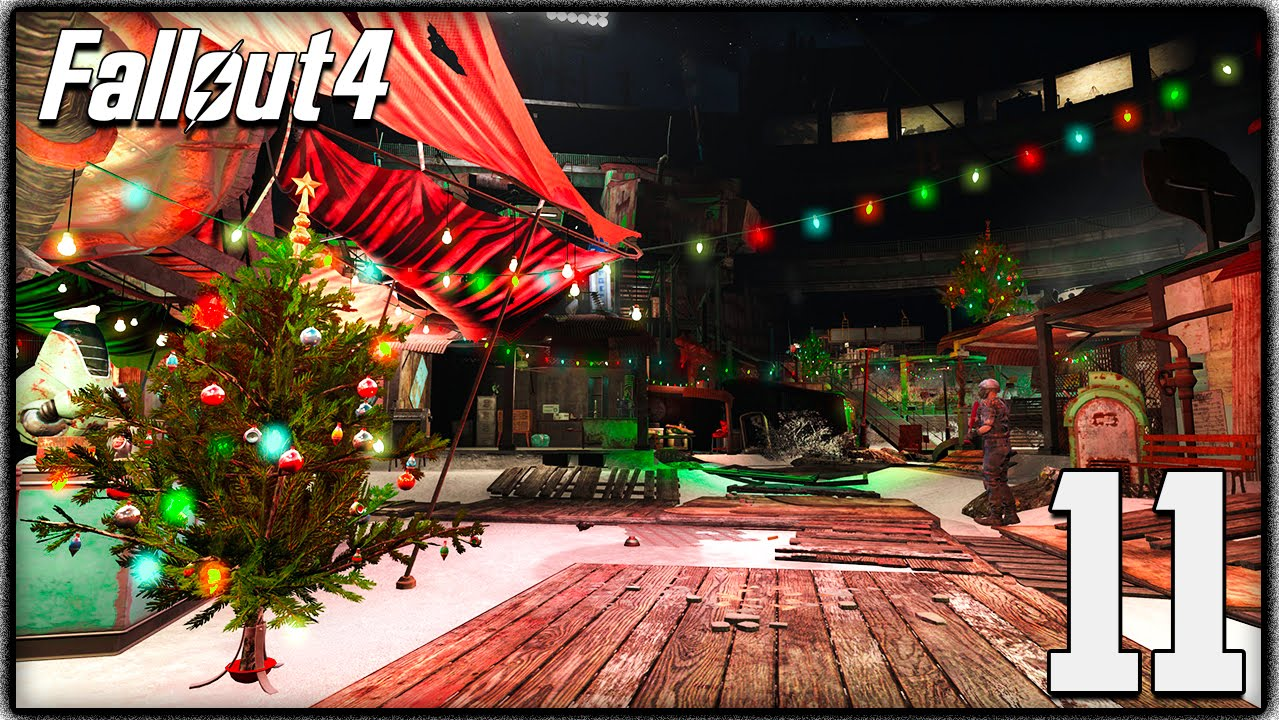 Fallout 4 - Christmas Easter Egg, Winter Wonderland Mod & Sea ...