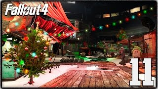 Fallout 4 - Christmas Easter Egg, Winter Wonderland Mod & Sea Monster Quest!  (Let