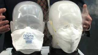 Fitseal One Size Fits All Strapless Respirator