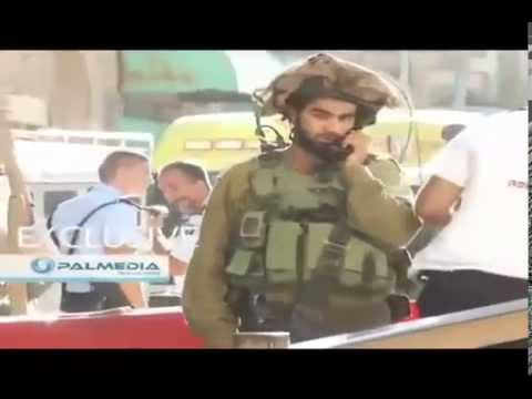 Dramatic Video Israeli Soldiers shoots 18yo Palestinian woman 10 times, lets her die in street