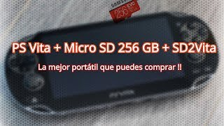 PS Vita + SD2Vita + SD 256 GB: La mejor portátil que puedes comprar!!