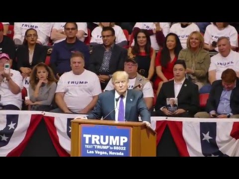 Donald Trump in Las Vegas 02-22-2016 HD