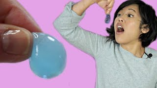 Japanese EDIBLE WATER BALLOONS - gush when you bite them - Fushigidama Candy Kit | Whatcha Eating?