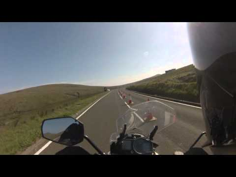 Isle of Man TT 2015 - Snaefell Mountain Course - KTM 1190 Adventure - second pass full