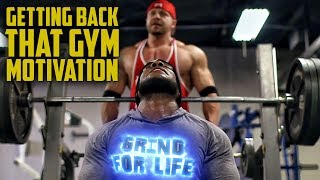 Getting Back Your Gym Motivation | Tiger Fitness