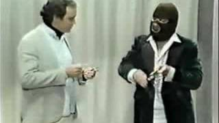 Andy Kaufman Meets The Masked Magician