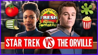 Shots Fired! Star Trek Discovery Attacks The Orville...