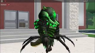 Pastillas - as become spider Overseer in Roblox! -Robloxian High School [LiogaR]