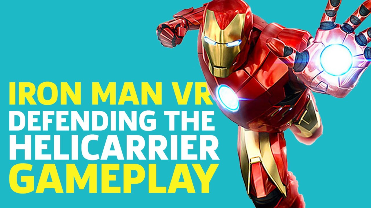 Iron Man VR Gameplay - Defending The Helicarrier - GameSpot