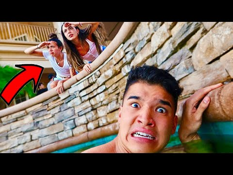 Sneaking Into My Fake EX GF's Birthday Party!