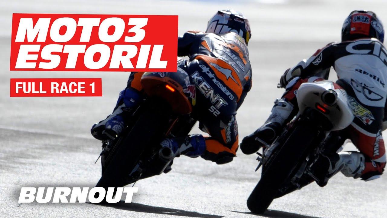 FIM CEV Repsol  Moto3™ Junior World Championship 2020 | Race 1| Estoril - Portugal | BURNOUT