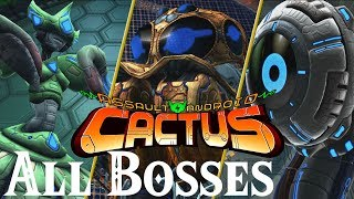 Assault Android Cactus // All Bosses