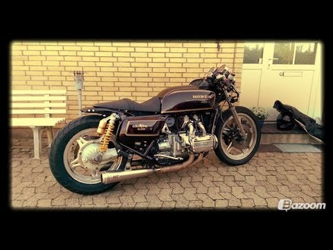 Goldwing Cafe Racer Youtube