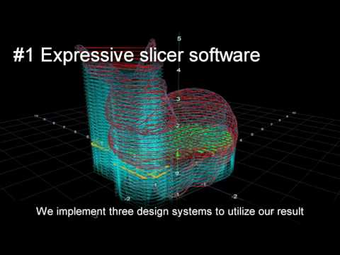 Expressive Fused Deposition Modeling by Controlling Extruder Height and Extrusion Amount