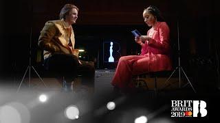 Lewis Capaldi chats to Yasmin Evans at Abbey Road | BRITs 2019 Critics' Choice Video