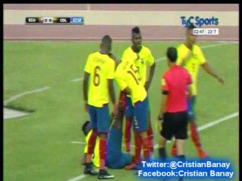 Ecuador 3 Colombia 0 (Cx12 Radio Oriental)  Sudamericano Sub 20 2017