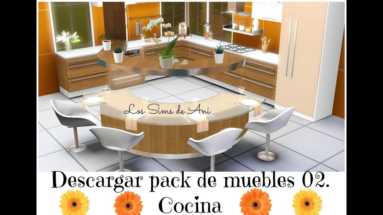 descargar pack de muebles cocina los sims 3 youtube