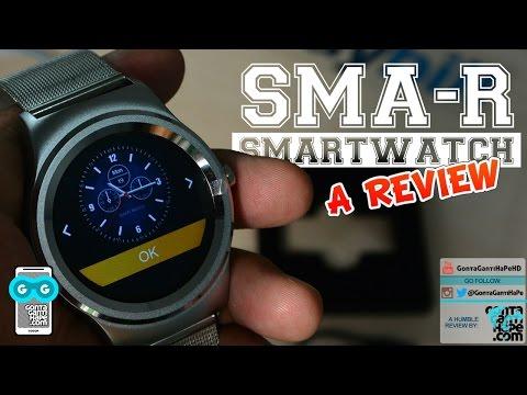 Review SMA-R Steel Band Smartwatch Indonesia (direkam dengan Xiaomi Mi 5s)
