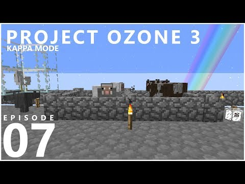 Project Ozone 3 Kappa Mode - NETHER CAKE [E07] (Modded Minecraft Sky Block)