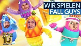 10 Jahre PlayStation Plus - Geburtstagsparty mit Fall Guys