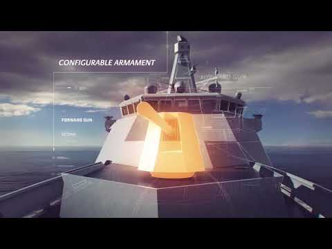 Babcock - Arrowhead 120 Light frigate concept