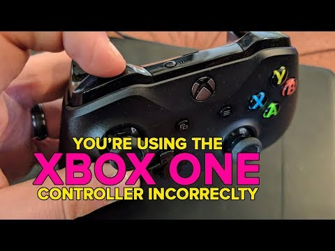 How to correctly use Xbox One's bumper buttons