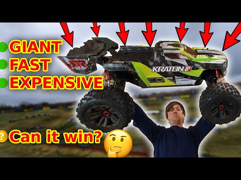 Can I Make This GIANT RC Car Faster & Win The Race?