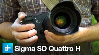Sigma SD Quattro H - Hands On Review