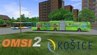 OMSI 2 KOŠICE L17, Luník VIII Lingov & Irisbus Citelis 18M CNG DPMK #3325