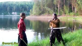 Режущие техники для длинного меча 3.