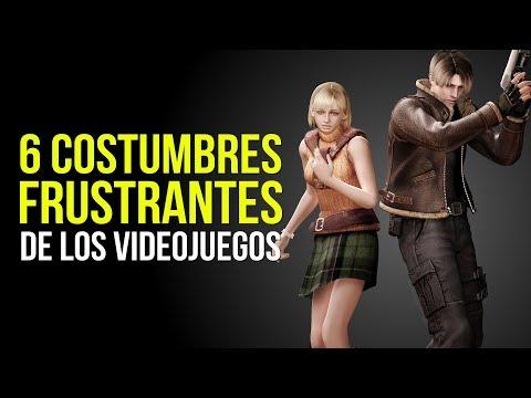6 COSTUMBRES FRUSTRANTES De Los Videojuegos