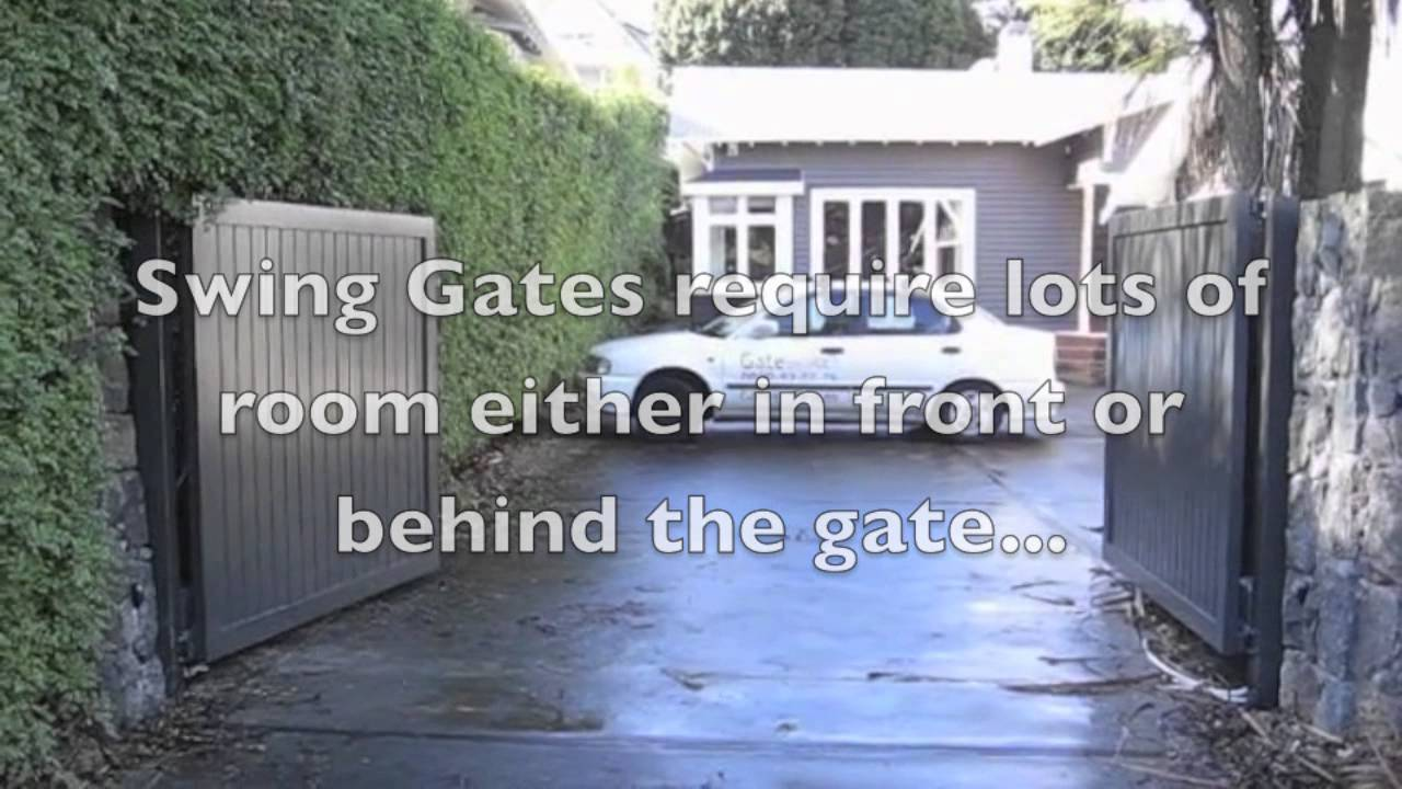 Sliding Gate Vs Swing Gate Installation Burbank Ca Youtube