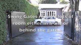 Sliding Gate Vs. Swing Gate Installation Burbank, Ca