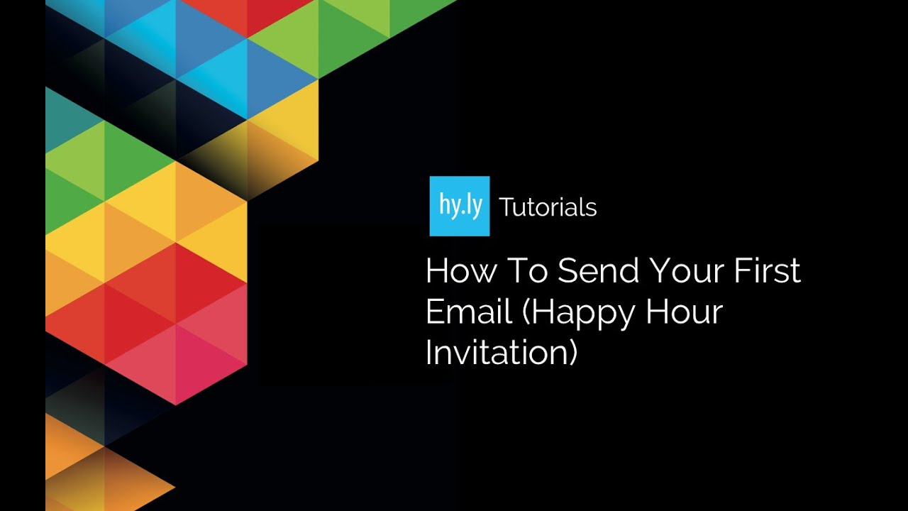 how to send your first email happy hour invitation how to send your first email happy hour invitation