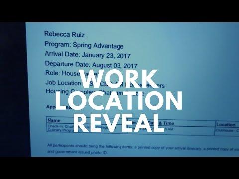 Work Location Reveal | Disney College Program SA 2017