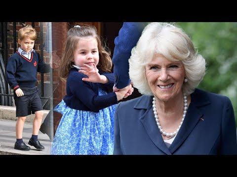 What do Prince George & Princess Charlotte call Camilla?