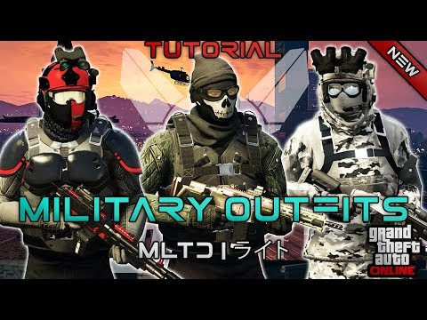 *NEW* TOP 3 MILITARY OUTFITS | DOOMSDAY HEIST 1.42 | GTA Online | Military Outfits