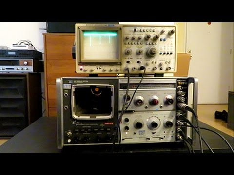 How to connect a HP 141T Spectrum analyzer to an external display
