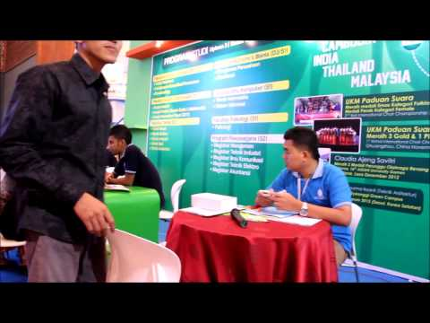 Mercu Buana University in Education & Training Expo 2014 at Jakarta Hall Convention Centre