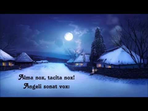 Alma nox (Christmas carol in Latin)