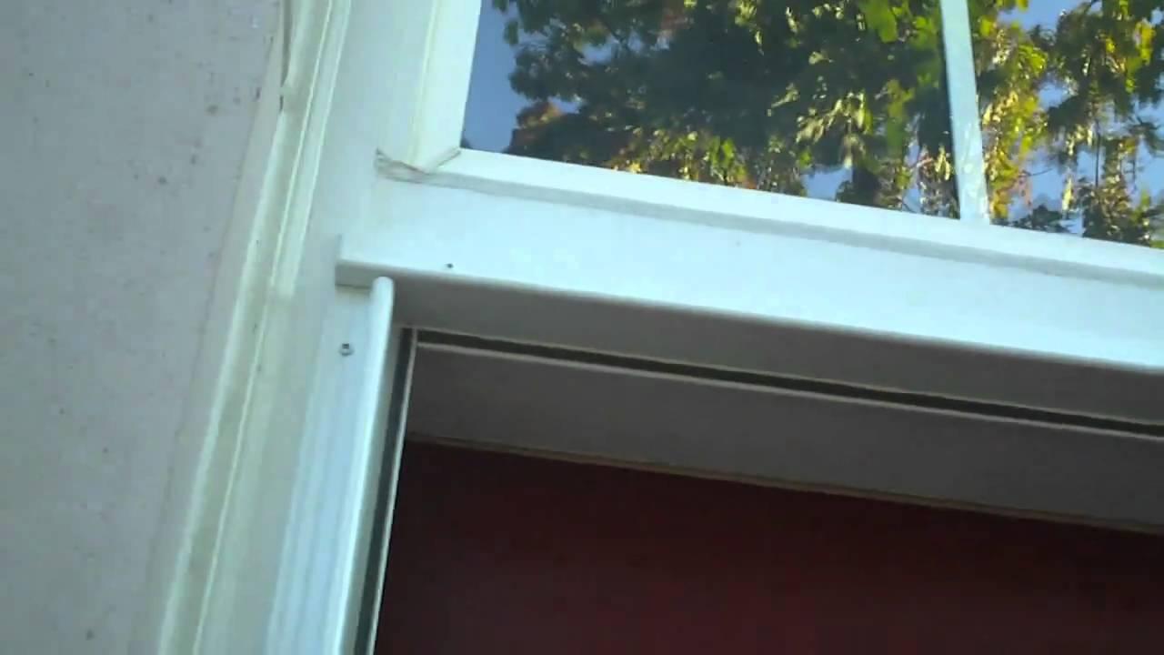 Trapp Storm Door Install #2 - YouTube