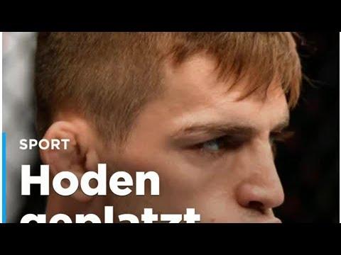 Hoden geplatzt: UFC-Kämpfer beim Heimwerken verletzt - YouTube