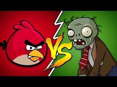 Angry Birds Vs Plants Zombies