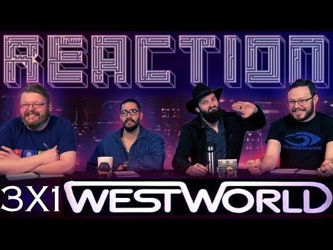 """Westworld 3x1 PREMIERE REACTION!! """"Parce Domine"""""""