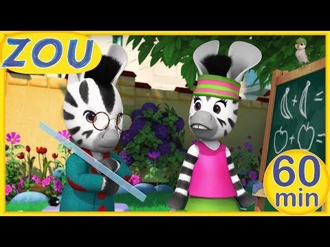 Zou en español 📏 ZOU DA LECCIONES 📙 60 min RECOPILACIÓN | Dibujos animados 2019