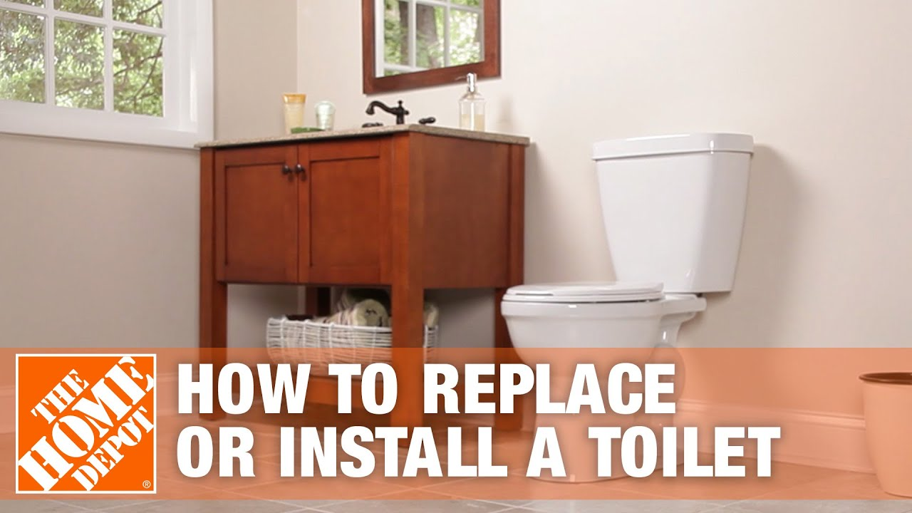 Attrayant How To Replace Or Install A Toilet | Bathroom Renovation | The Home Depot