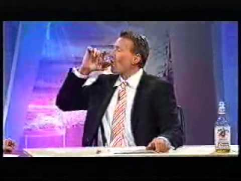 The Footy Show AFL (2005) - Sam downs a bottle of Jim Beam