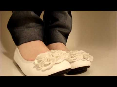 Ballet flats and canvas shoes collection 2014